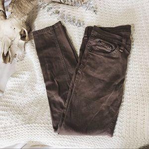 RAG&BONE/ hemmed skinny legging jean